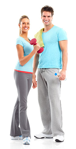 motivated Healthy Fit Couple