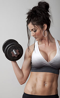 Best Forearm Exercises for Women at Home: Dumbbell Arm