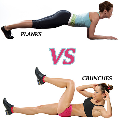 planks vs crunches