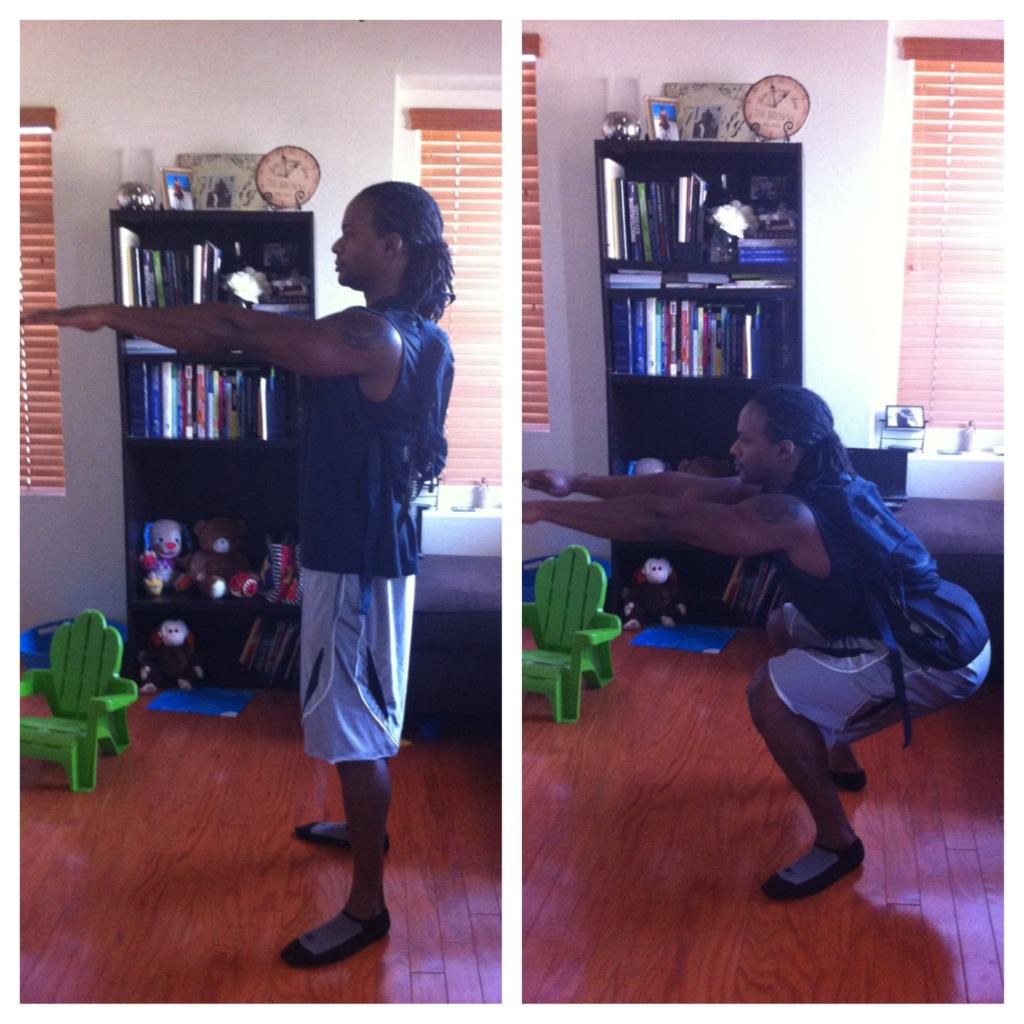 bag squat