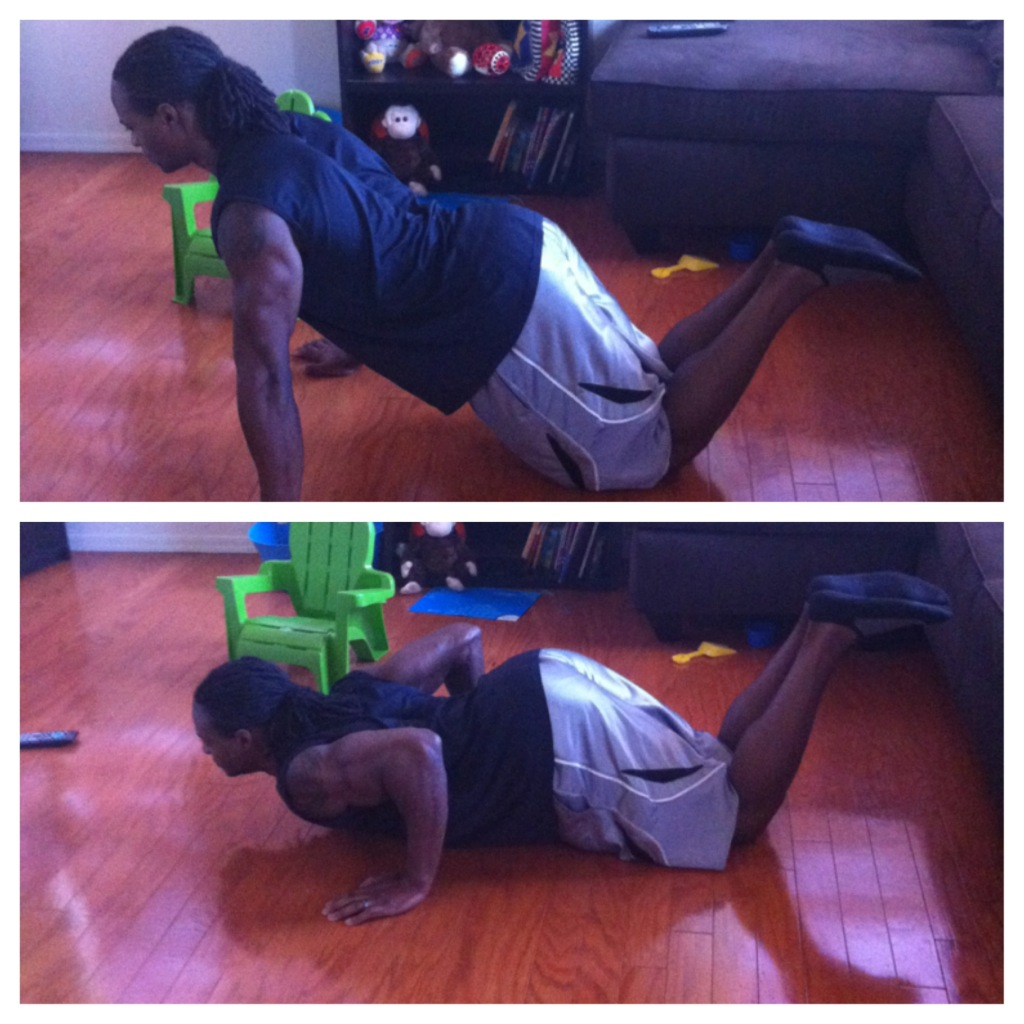 Modified Push Ups (Knees)