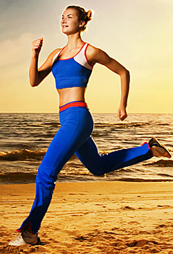 woman improving cardio endurance