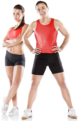 male-and-female-personal-trainer