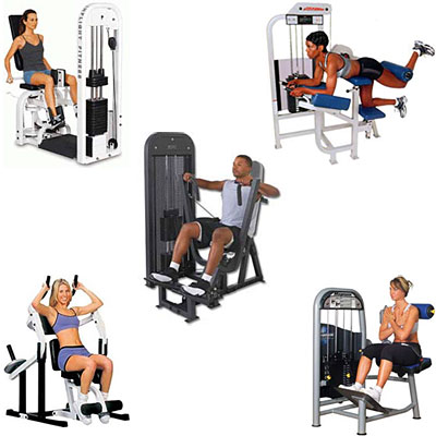 machine exercises