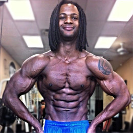 Julian Brown Professional Bodybuilder