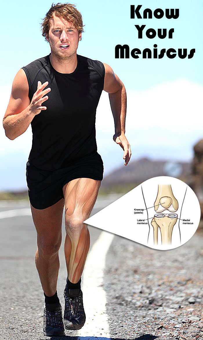 man running anatomy of knee