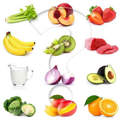organic non-organic foods