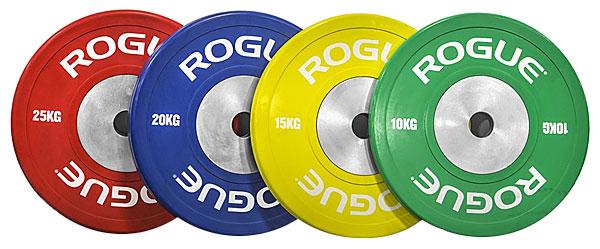 rogue kg color training plates