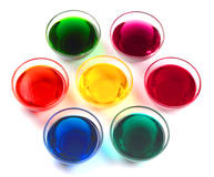 colorful food dyes