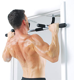 iron gym home workout bar