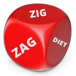 calorie zig zag diet