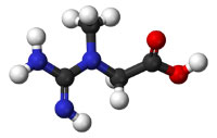 creatine chemical structure