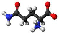 glutamine chemical structure