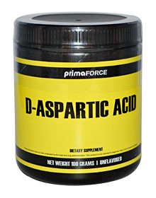 D-Aspartic Acid testosterone supplement