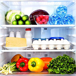 Where should I put food to increase shelf life?