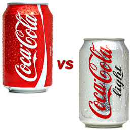 diet soda vs regular soda