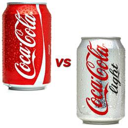 diet soda vs regular soda