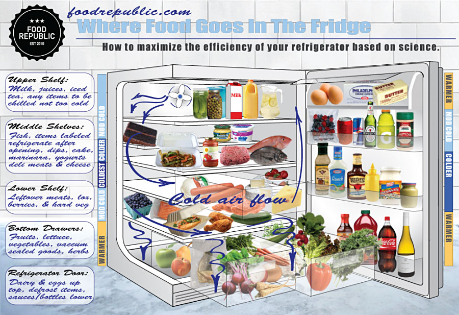 How to Properly Store Food in the Fridge: What to Know