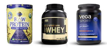 top 3 recommended protein powders