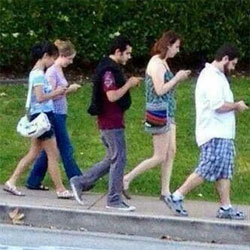 cell phone addicted society
