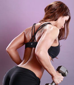 women's upper back workout