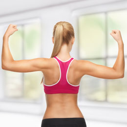 best upper back workout for women