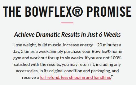the bowflex promise
