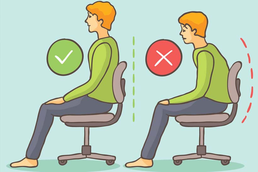 chair posture