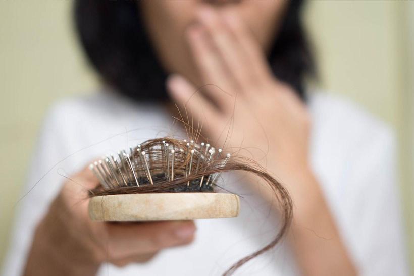 causes solutions hair loss