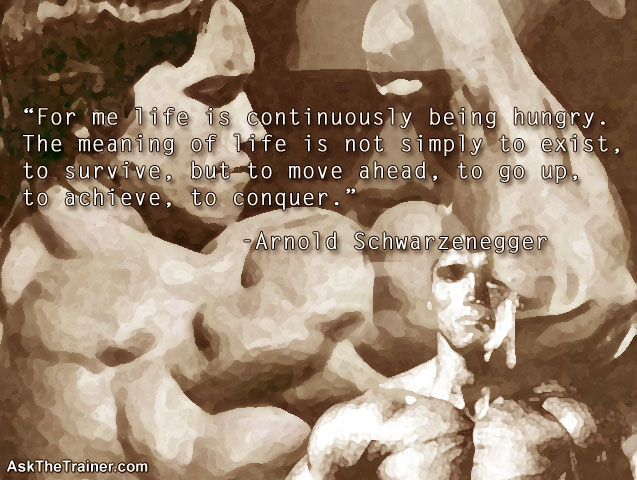 Motivational Quotes Arnold Schwarzenegger - Inspirational, Fitness, Famous, Funny, Life