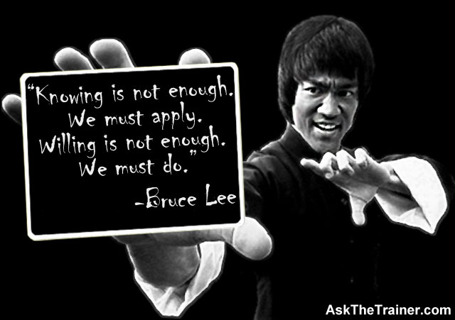 Motivational Quotes Bruce Lee - Inspirational, Fitness, Famous, Funny, Life
